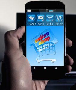 compra de peças e acessórios para manutenção de celulares