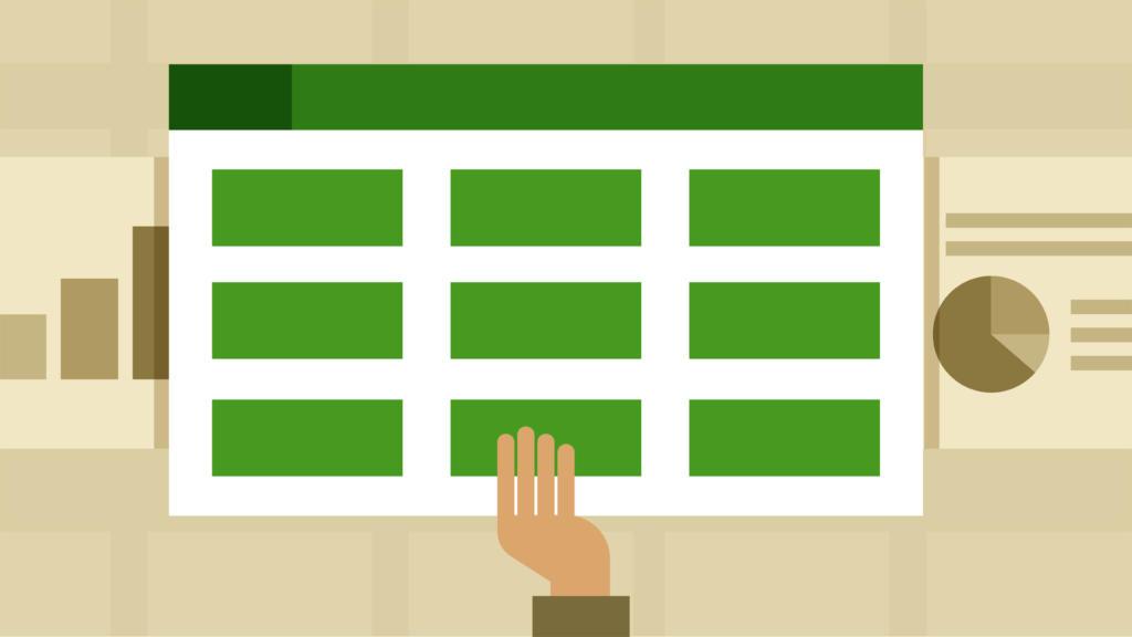 Excel com tabelas dinâmicas